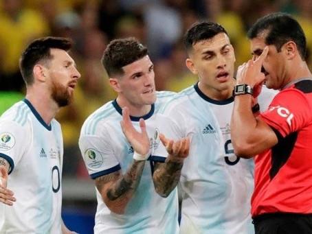 Argentina formaliza série de críticas à Conmebol após eliminação na Copa América