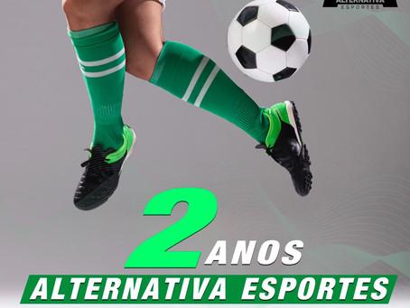 Alternativa Esportes completa 2 anos e está perto da marca de 5 milhões de acessos; veja números
