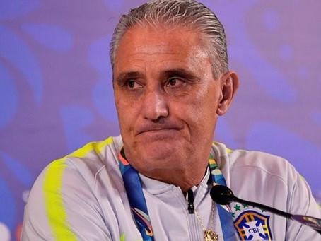 CBF garante permanência de Tite, independente de resultado na final da Copa América
