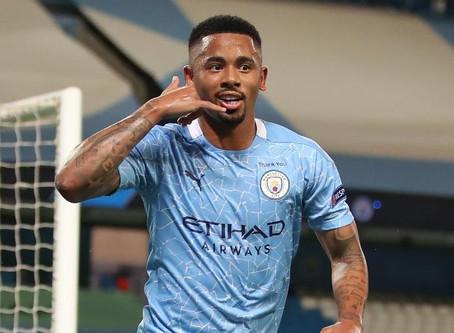 Gabriel Jesus ajuda na classificação do City na Liga dos Campeões e mostra poder de decisão