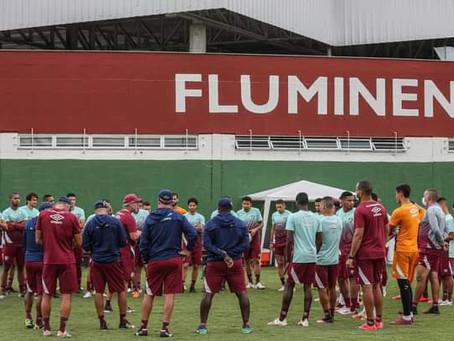 Fluminense contará com retorno de atletas que estavam com Covid-19 neste domingo