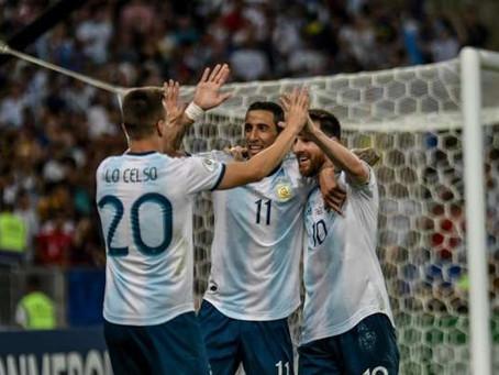 Argentina bate Venezuela e agora pega o Brasil na Copa América