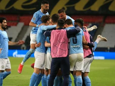 PSG sai na frente mas sofre virada do Manchester City.
