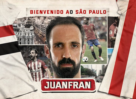 São Paulo contrata lateral-direito espanhol Juanfran