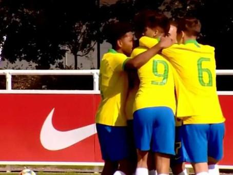 Seleção Brasileira Sub-17 vence Coreia do Sul em amistoso de preparação para Mundial da categoria