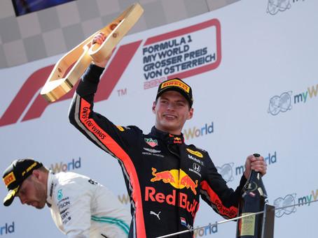 Em corrida polêmica, Verstappen vence e quebra hegemonia da Mercedes