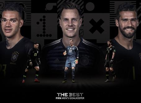 Alisson e Ederson disputam prêmio de melhor goleiro do mundo no Fifa The Best