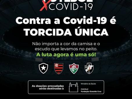 Ação contra o novo coronavírus une os grandes clubes do Rio; conheça os detalhes da campanha