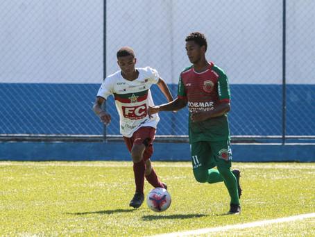 Vitória do Duque Caxiense contra a Portuguesa pela Rio Copa sub-23.