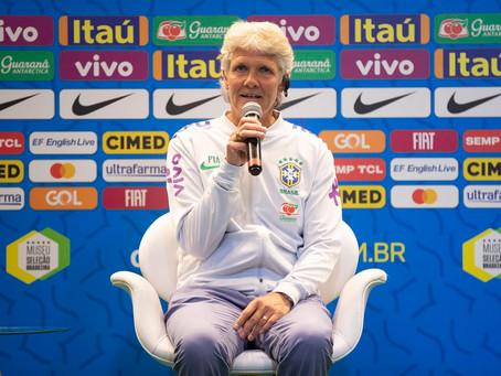 """Pia Sundhage é apresentada como nova técnica da Seleção Feminina: """"Estou assumindo um grande time"""""""