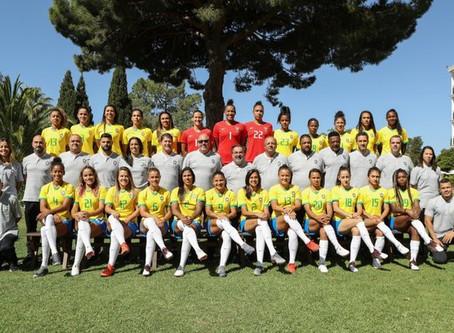 CBF aumenta premiação e jogadoras da Seleção Feminina vão receber mais de R$ 30 mil