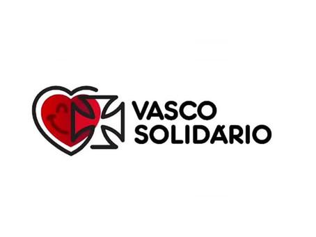 Vasco lança campanha de doação para ajudar comunidades no Rio