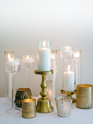 Gold Candle Assortment