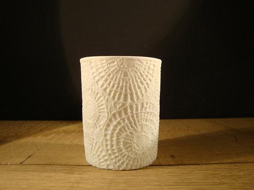 """Vase """" Dentelle """""""