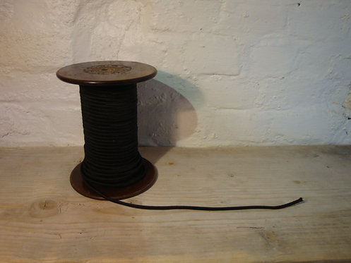 fil tissu noir au mètre