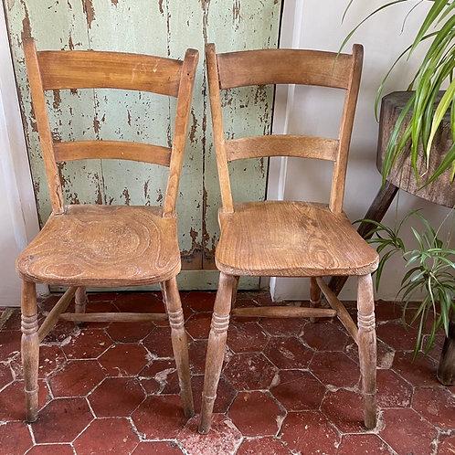 Paire de chaises WINDSOR