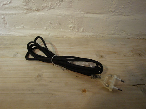 Fil électrique noir