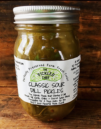 Classic Sour DILL PICKLES