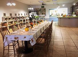 Restaurant Set Up _ Harvest Dinner Oct 2