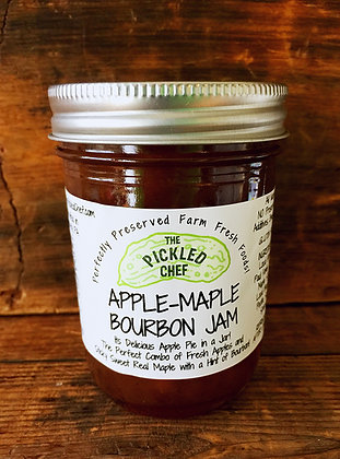 Apple-Maple-Bourbon Jam