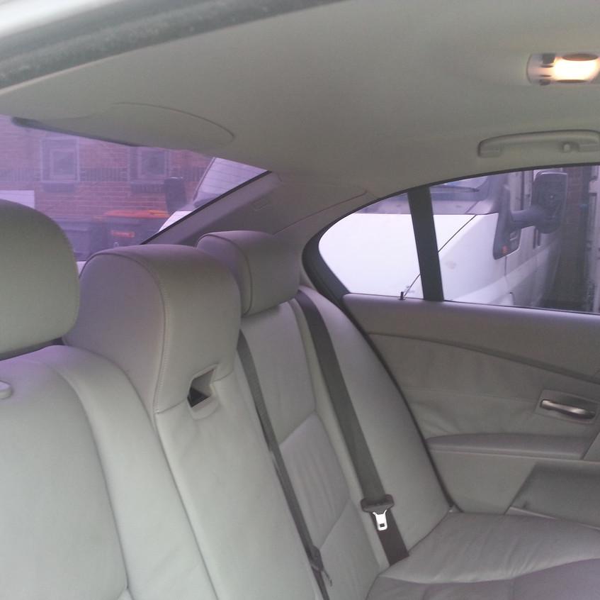 Purple Film inside car