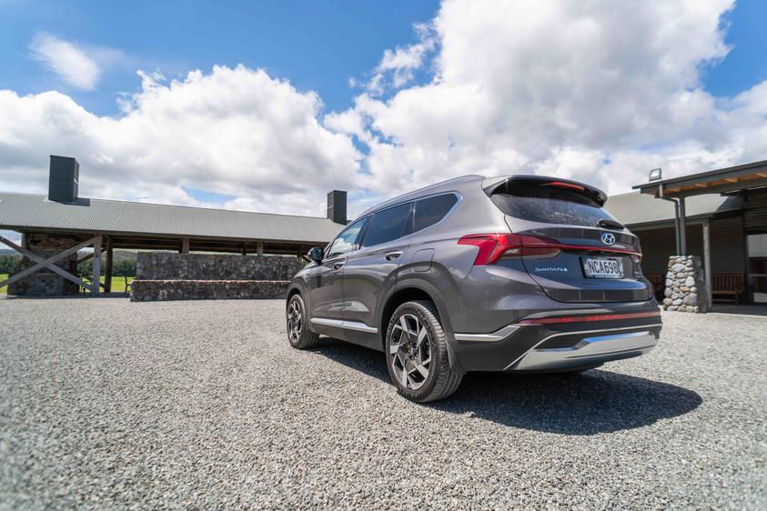 Hyundai Santa Fe at Poronui Stables (2), New Zealand