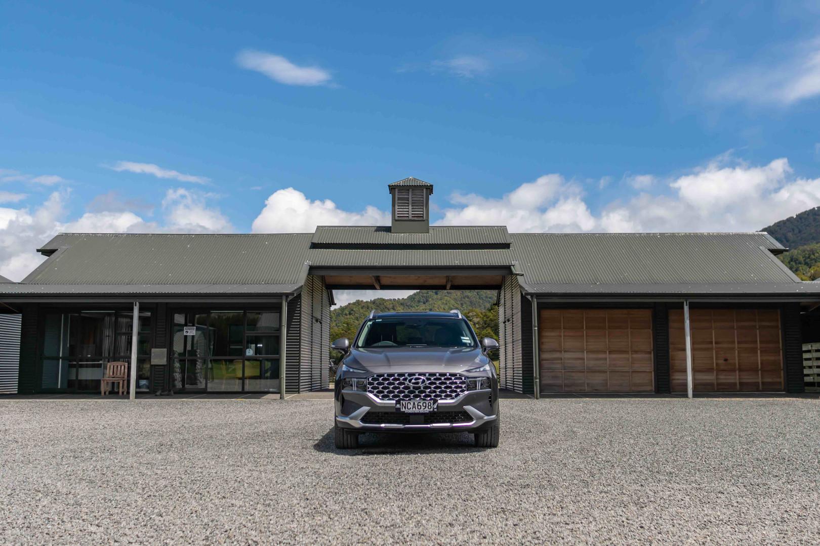 Hyundai Santa Fe at Poronui Stables (3), New Zealand