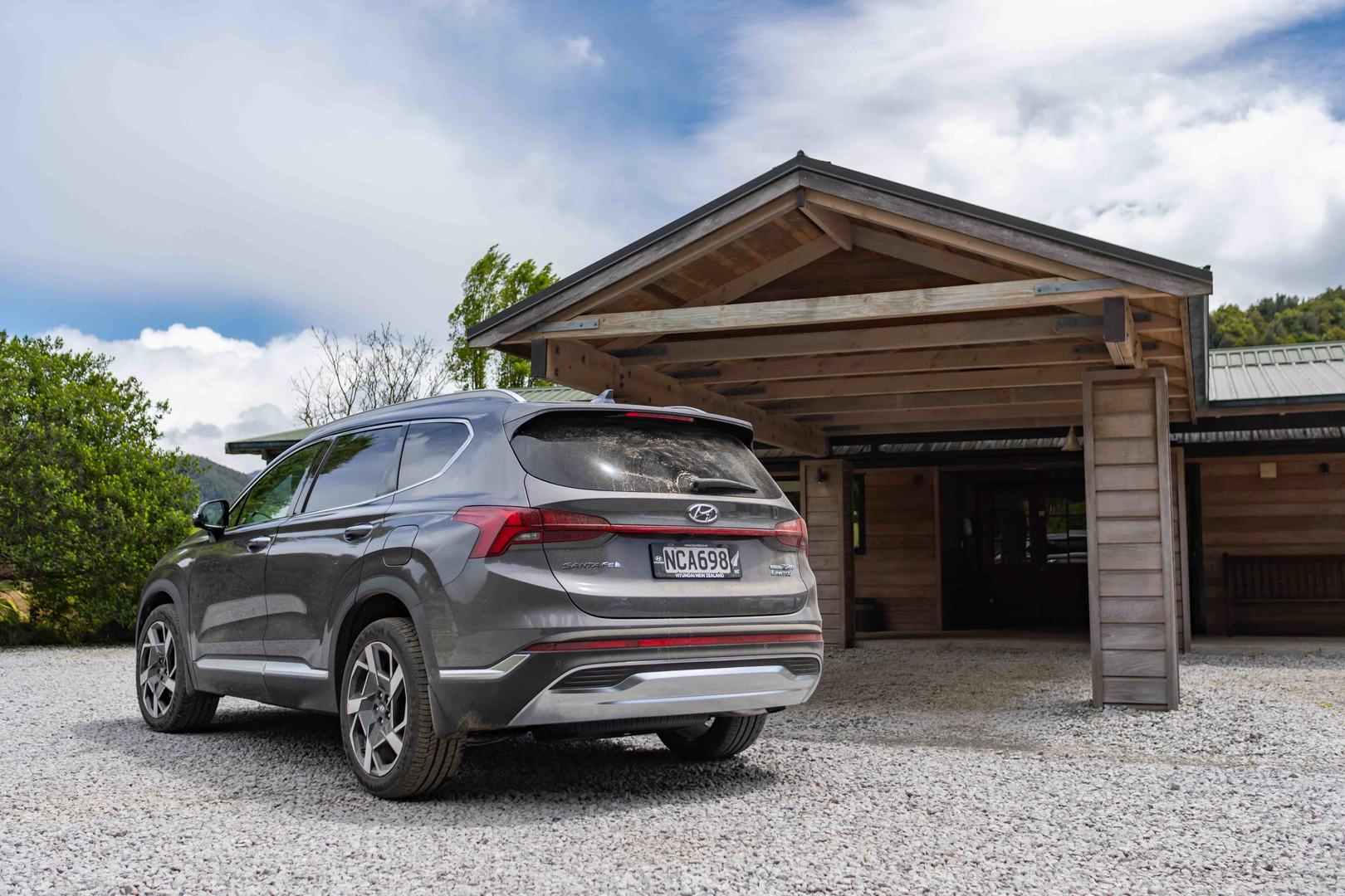 Hyundai Santa Fe at Poronui Lodge, New Zealand