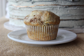 Cinnamon Walnut  Jumbo Muffin