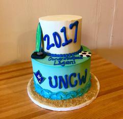 UNCW Gradation Cake