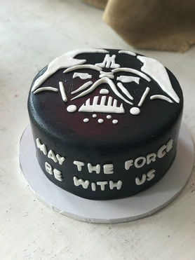May The Force Be With Us Grooms Cake
