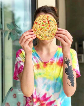 Fruity Pebble Jumbo Cookie