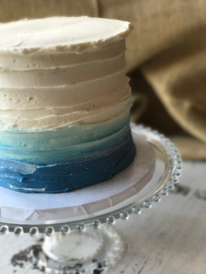 Ombre Cutting Cake