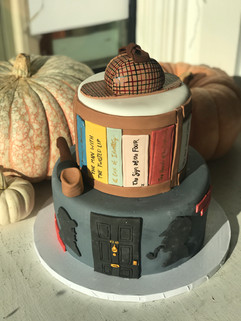Sherlock Holmes Grooms Cake