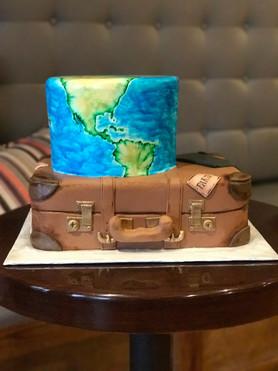 Travel Themed Anniversary