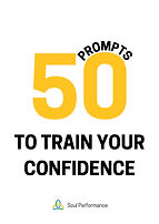 50 journal prompts to train your confidence