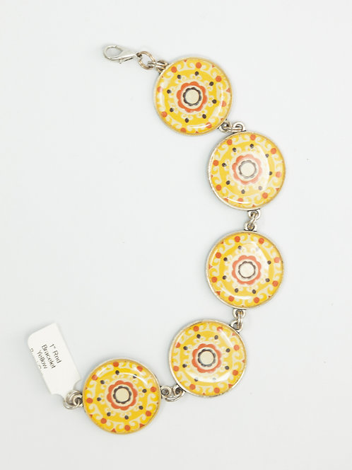 Atomic Yellow Daisys - Bracelet