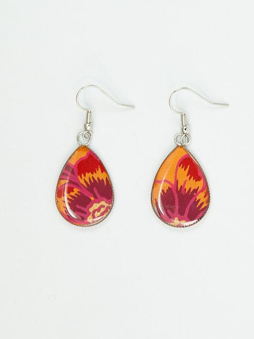 Fiery Flower - Earring