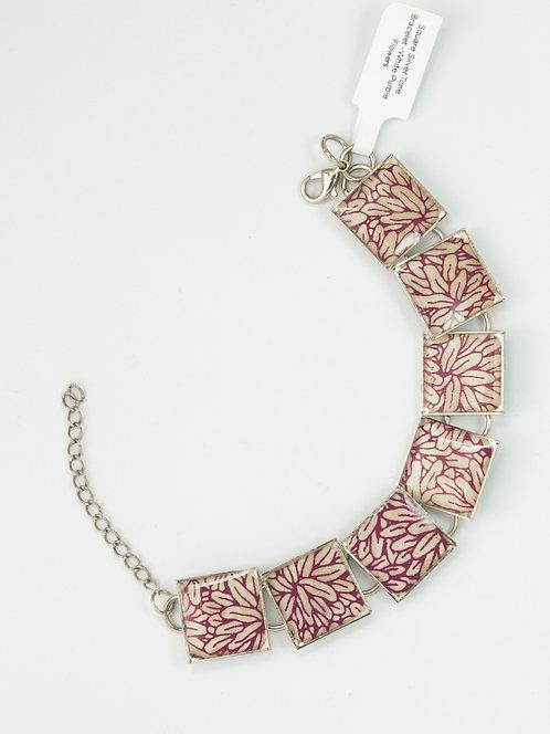 Flowers in Purple - Bracelet