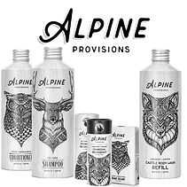 Alpine Provisions organic hair and body products