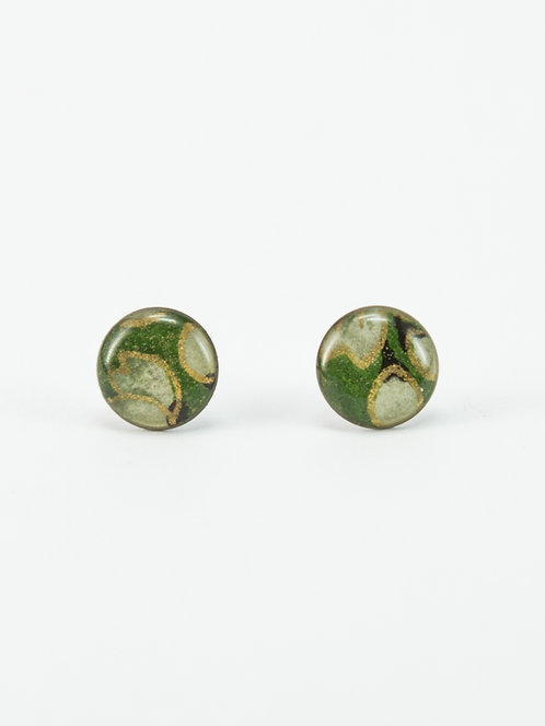 Asian Jade - Earring Stud