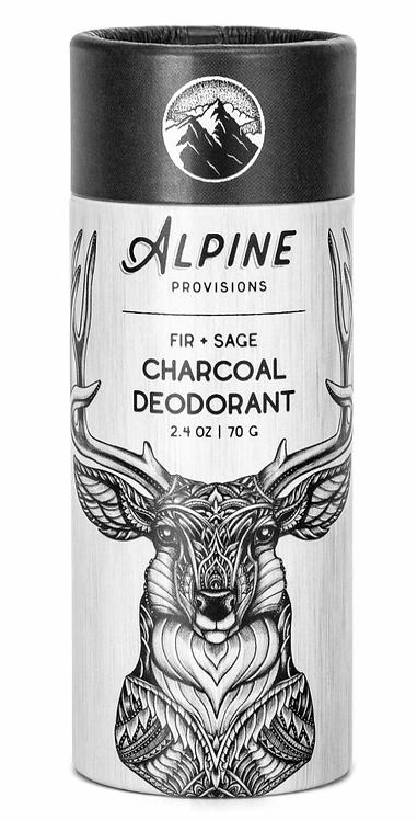 Fir + Sage Charcoal Deodorant