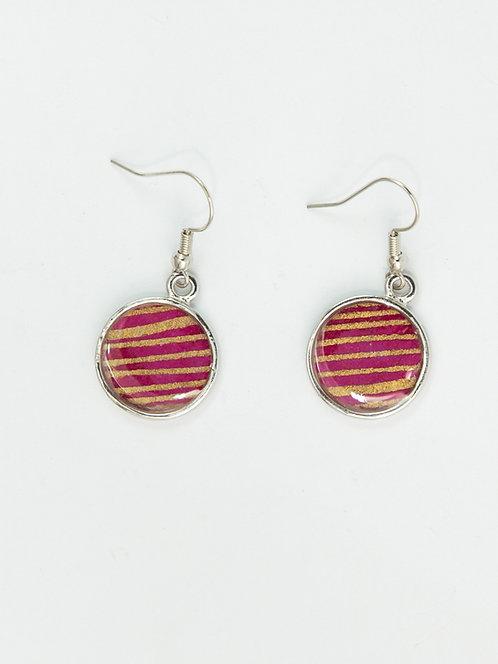 Gold Bars - Earring