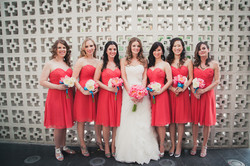 07Whimsical-Colorful-Palm-Springs-Wedding-Zoom-Theory-Photography-bride-bridesmaids-coral