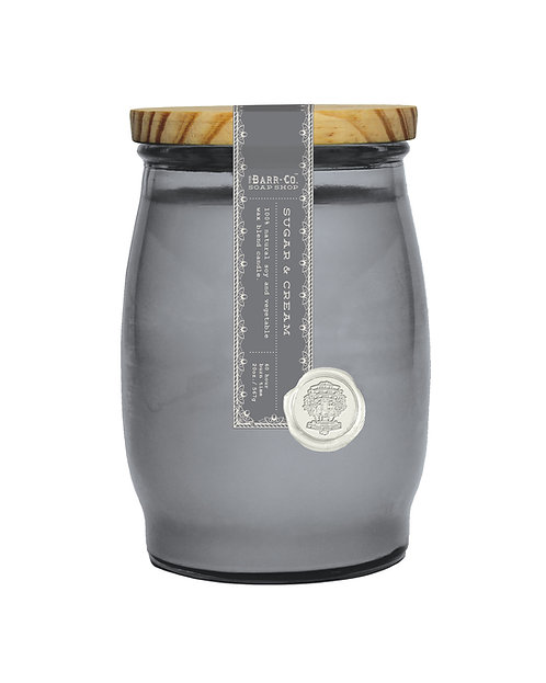 SUGAR & CREAM BARREL CANDLE