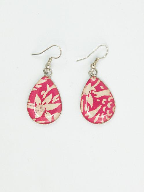 Hawaiian Pink - Earring