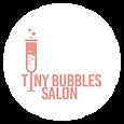 Tiny Bubbles Salon Logo, hair, skin, makeup