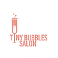 Tiny Bubbles Salon Logo, hair, skin, makeup