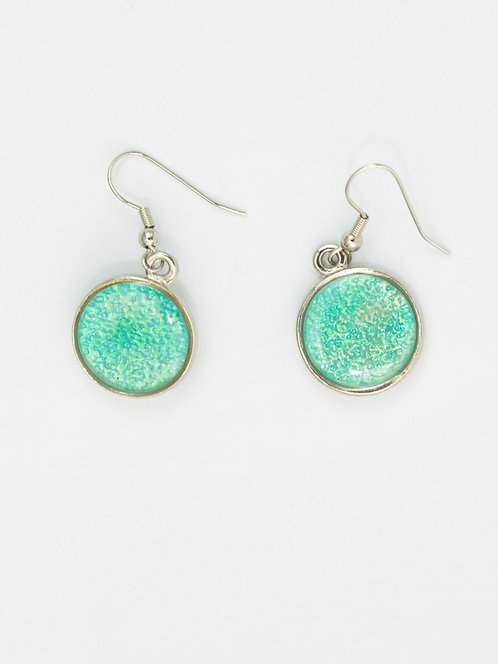 Frozen Bubbles -Small Earring