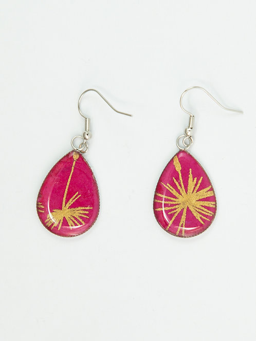 Gold Palms - Earring